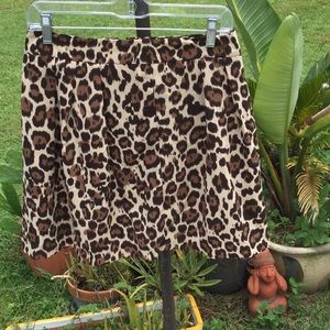 🐆NWOT Banana Republic Size 4 Petite Fun Skirt 🐆